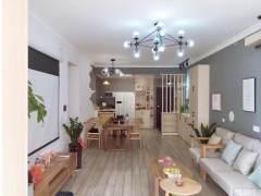 (平果市)江景名城电梯高层3室2厅2卫114m²精装修