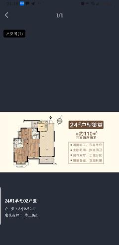 特价平果恒大城3室2厅2卫29万110m²出售